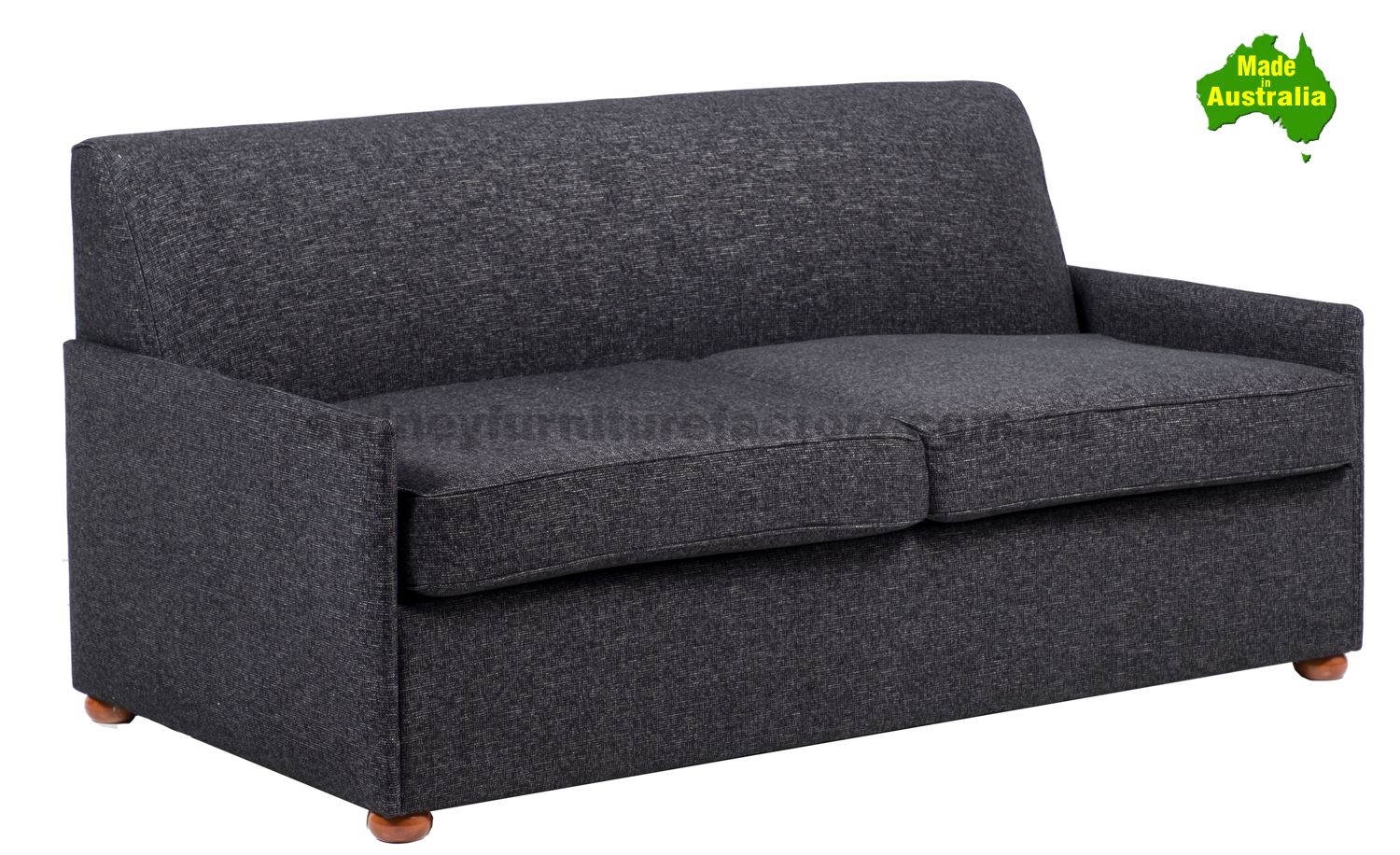 Picture of: April Sofa Bed With Inner Spring Mattress Sydney Furniture Factory
