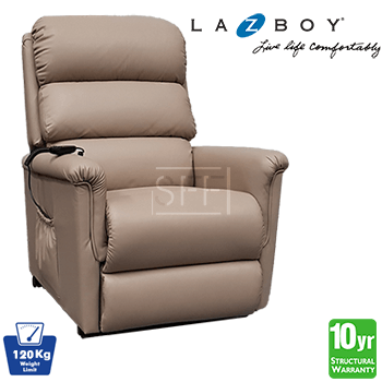 Lazboy Ascot Electric Lift Chair in Fabric