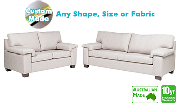 Ashbury Fabric Sofa Pair