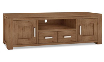 Ashton 2 Door Hardwood TV Unit