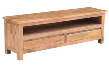 Bronte 2 Drawer Hardwood TV Unit