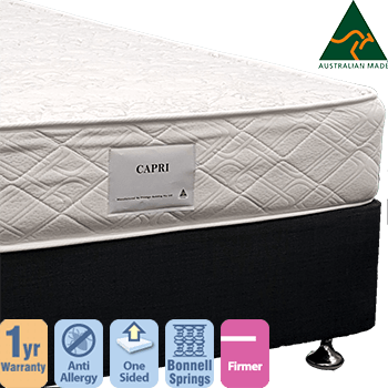 Capri Firm Queen Mattress and Base