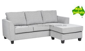 Coogee Queen Sofa Bed with Inner Spring Mattress & Chaise