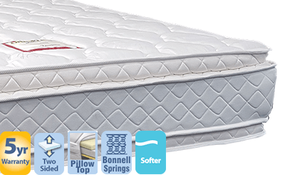 Embassy Queen Mattress with Double Pillow Top