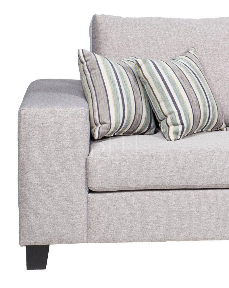 Geelong Double Chaise Lounge In Fabric, Sydney Furniture