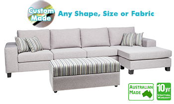 Geelong Reversible Chaise Lounge in Fabric
