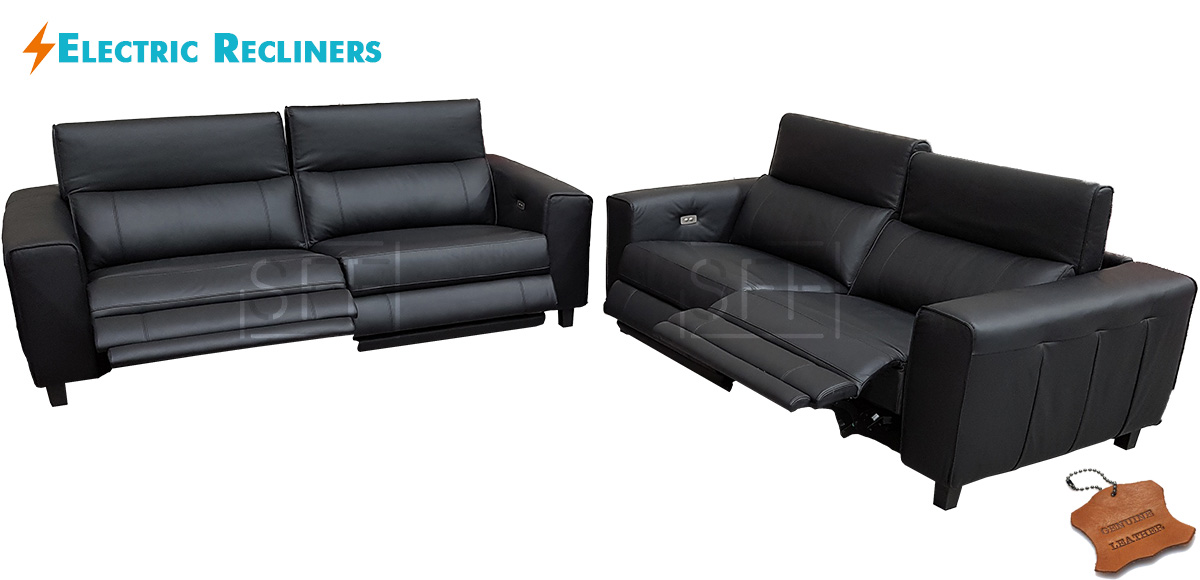 Amazing Keira Sofas With Electric Recliners In 100 Leather Sydney Machost Co Dining Chair Design Ideas Machostcouk
