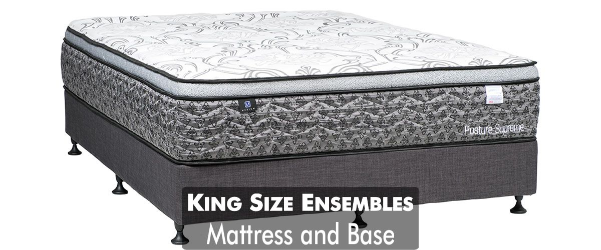 King Size Mattress and Base