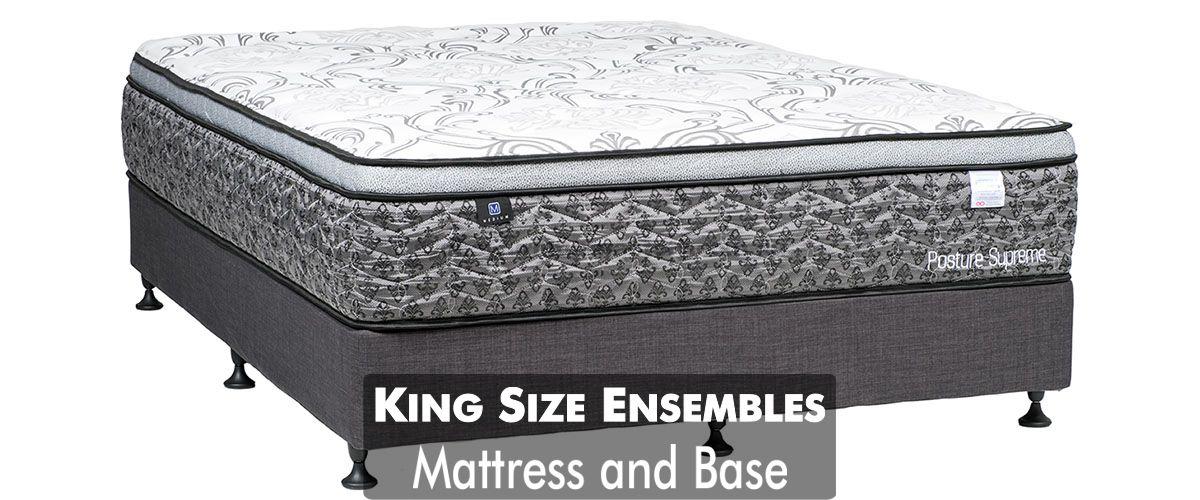 King Ensemble King Mattress And Base Sydney Furniture