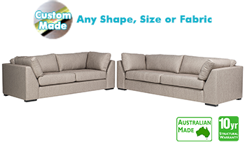 Magnum Fabric Sofa Pair