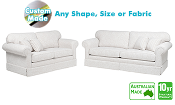 Manhattan Fabric Sofa Pair