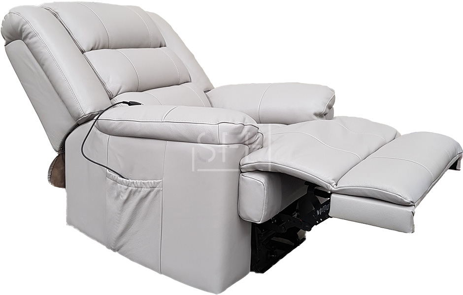 Monaco Electric Lift Chair In 100 Leather Lift Recliner