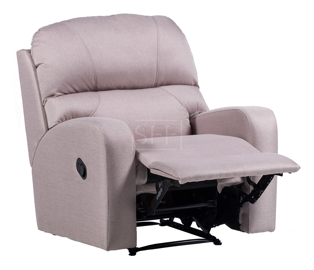Monterey Recliner Chair In Fabric Sydney Furniture Factory