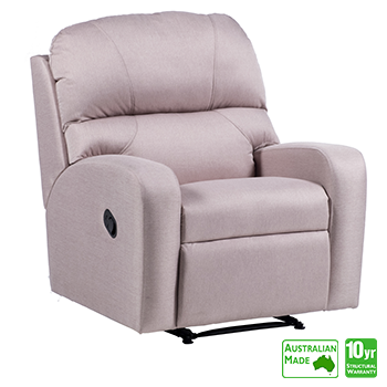 Monterey Recliner Chair in Fabric
