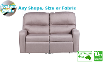 Monterey Recliner Sofa in Fabric