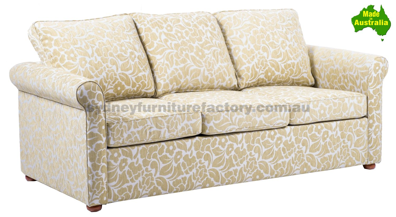 Oxford Queen Size Sofa Bed With Gel Inner Spring Mattress Sydney