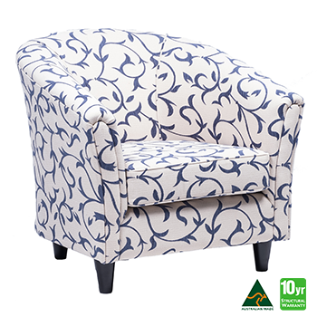 Preston Accent Tub Chair in Atlantic