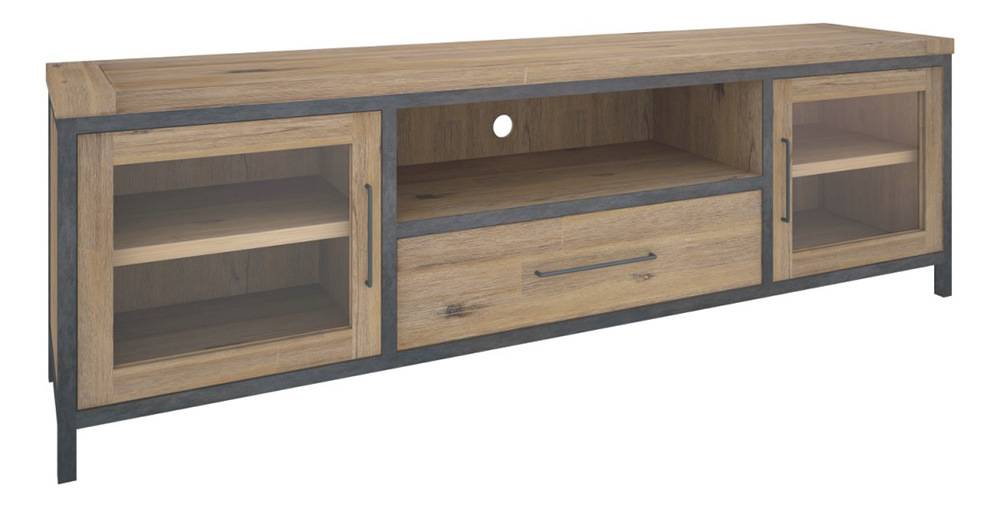 Pullman 2 Door U0026 1 Drawer Rustic TV Unit