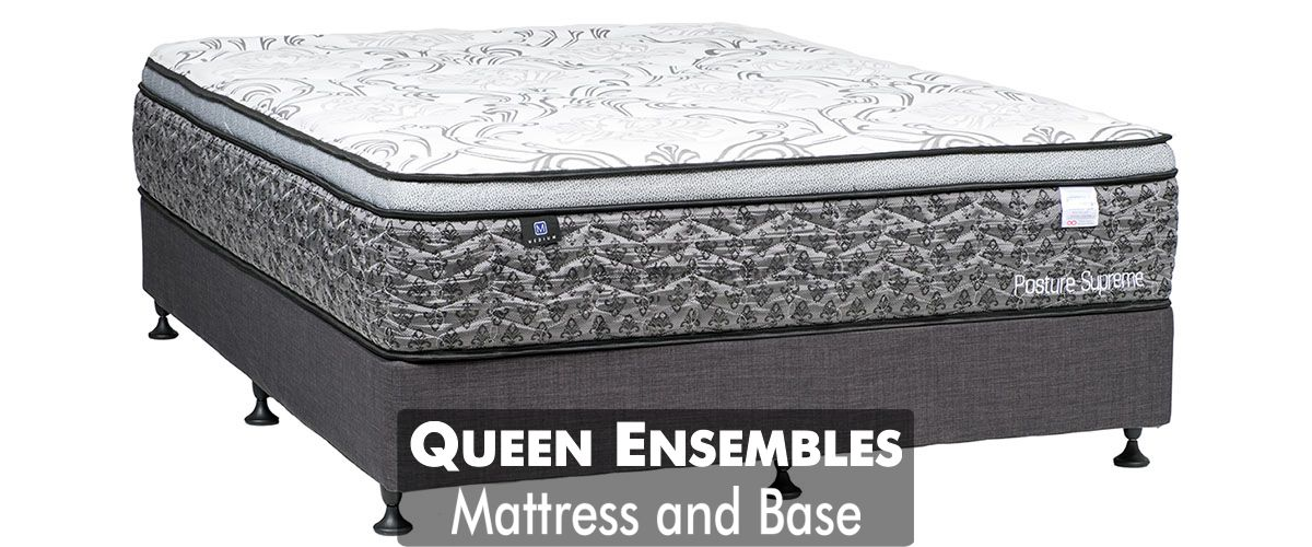 Queen Mattress and Base