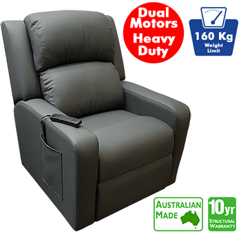Regency Heavy Duty Electric Lift Chair in Microfibre Leather