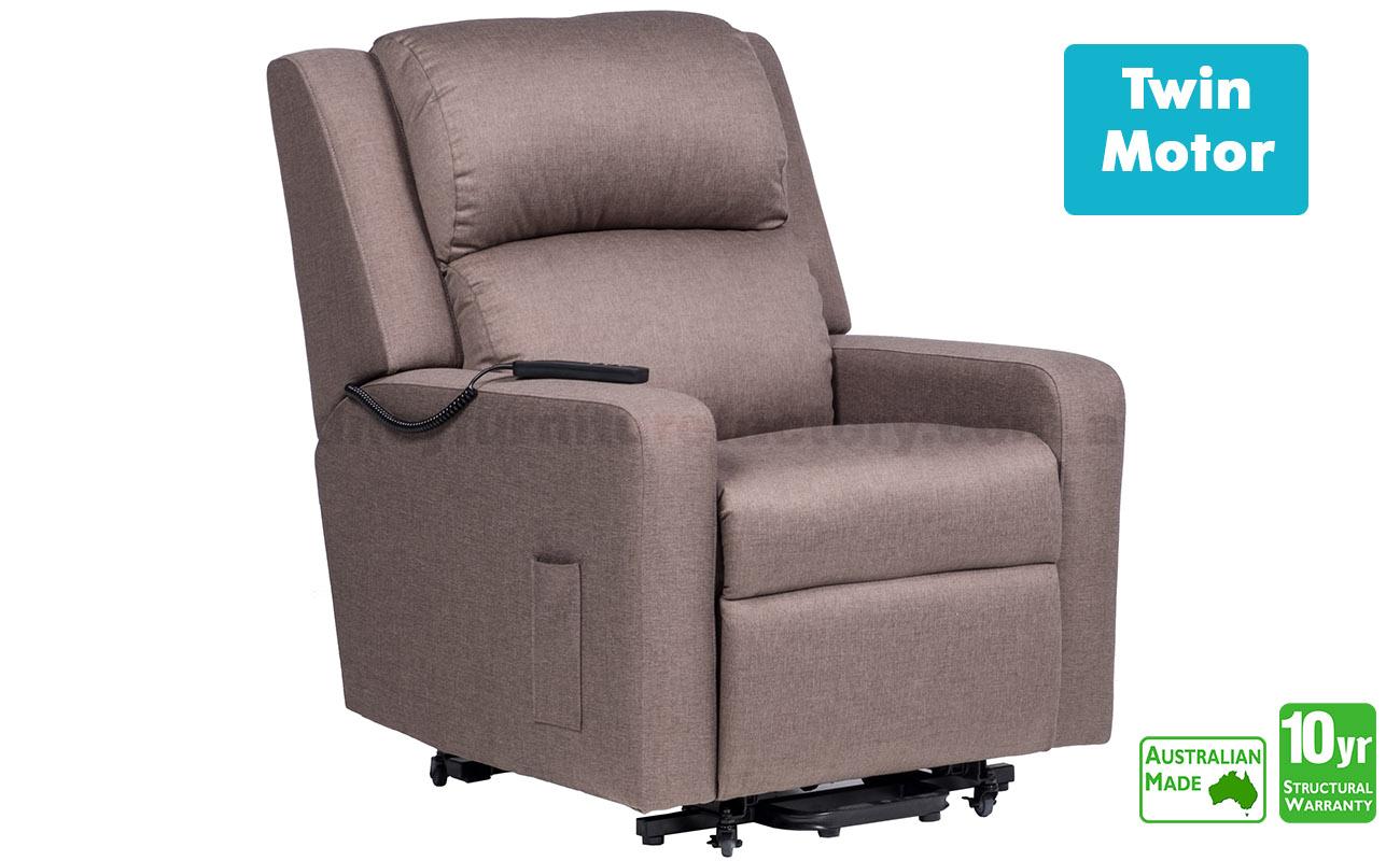 Regency Twin Motor Electric Lift Chair In Fabric Lift