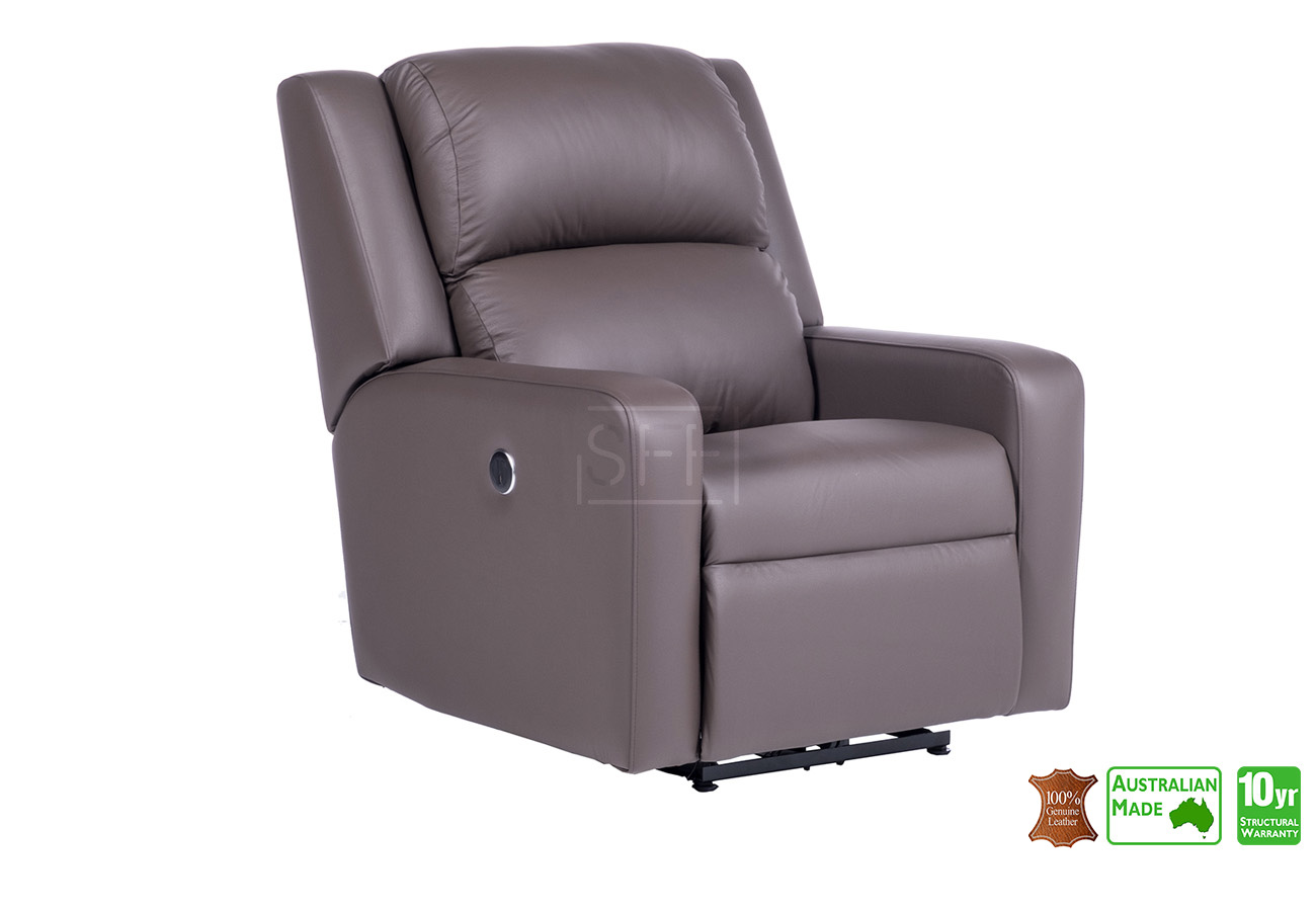 Amazing Regency Electric Recliner Chair In Full Italian Leather Pabps2019 Chair Design Images Pabps2019Com
