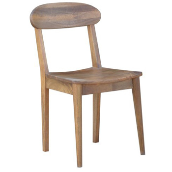 Retro Hardwood Dining Chair