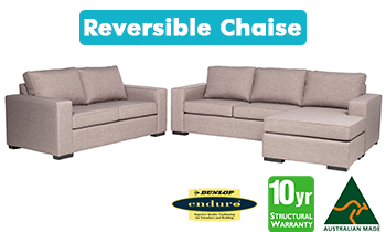 Richmond 3.5 Seater Chaise & 2.5 Seater Sofa