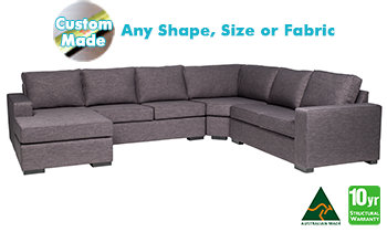 Richmond Corner Modular with Chaise in Fabric