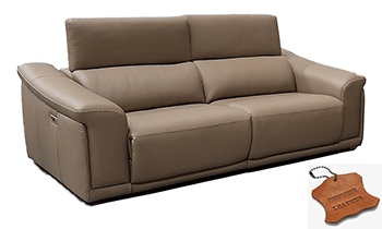 Rivano Sofas in 100% Leather with Electric Recliners & Headrests