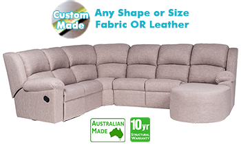 Sydney Corner Modular with End Recliner & Chaise