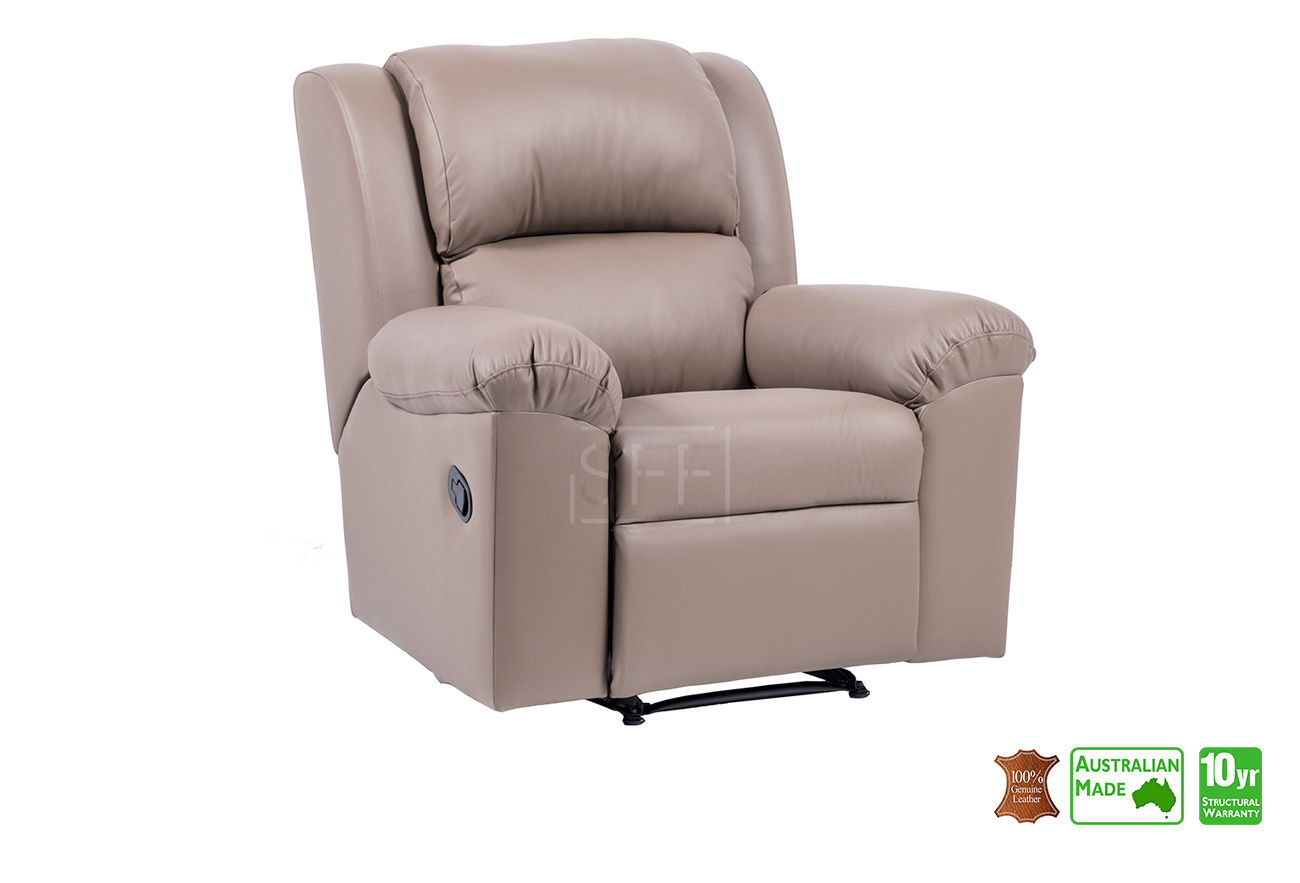 Phenomenal Sydney Recliner Chair In Full Italian Leather Sydney Pabps2019 Chair Design Images Pabps2019Com