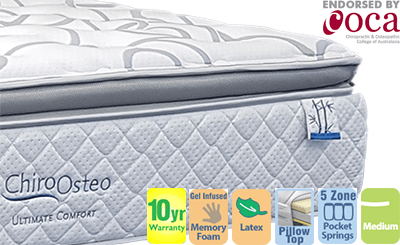 Chiro Osteo Ultimate Comfort Medium Single Mattress
