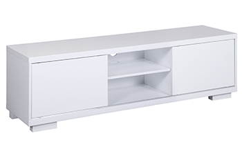 Waverley 2 Door White High Gloss TV Unit - **3 Sizes Available