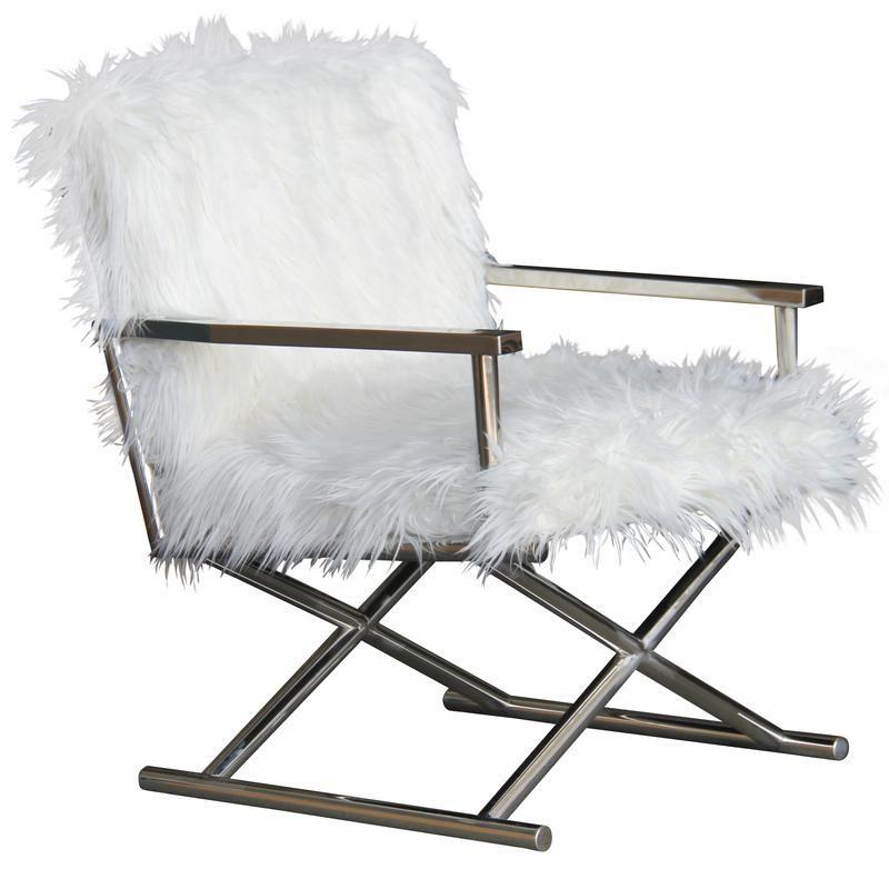 Elton Silver Chair